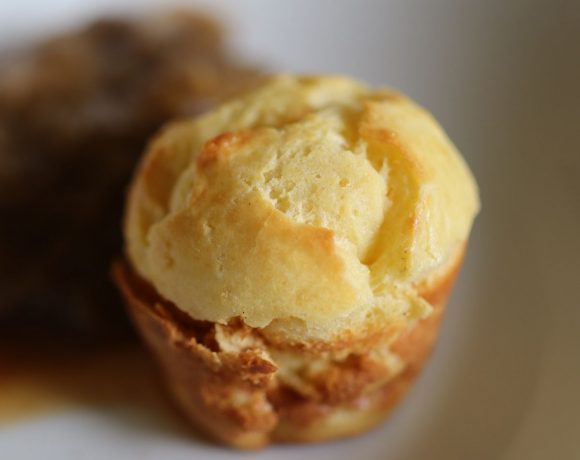 fresh popover made from 1800's recipe
